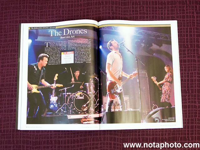 The Drones - Rolling Stone Australia RS700