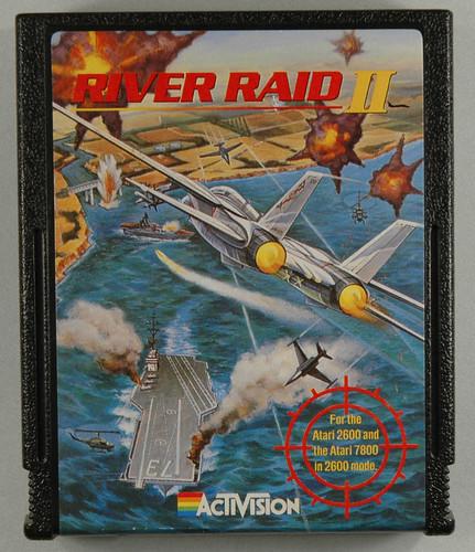 River Raid II was programmed