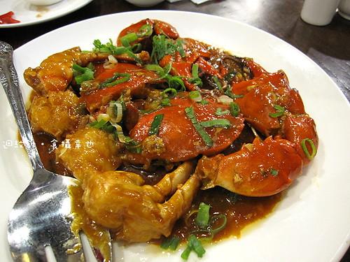點水樓醬爆蟹炒年糕之醬爆蟹