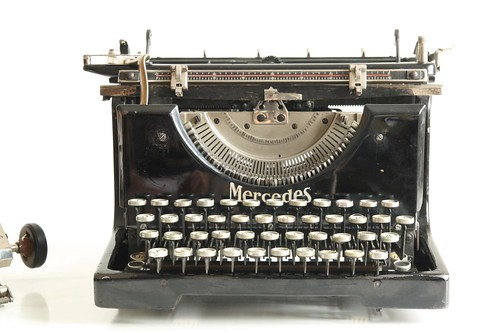 Mercedes No.5 typewriter 8/13