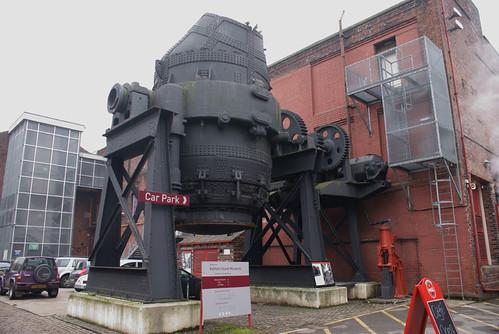 Bessemer Converter - Kelham Island Industrial Museum
