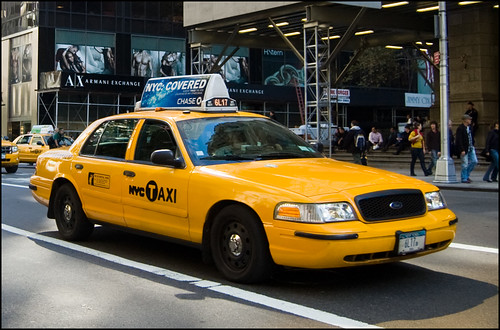 NY2009 - 2653 - Yellow cab