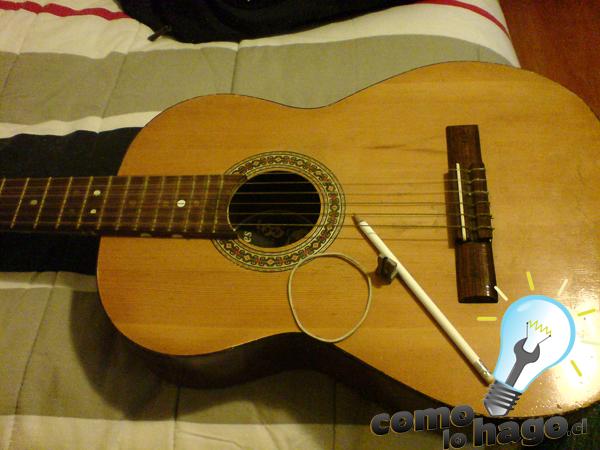 Como Hacer una Cejilla para Guitarra Casera