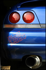 R33 GTR (Luda Arce) Tags: blue car skyline speed canon lights nissan florida fast turbo whip beast fl quick muffler jdm gtr r32 luda