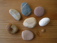 Pebbles from Newcastle beach