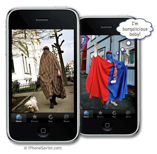 Burqa Babes iPhone App