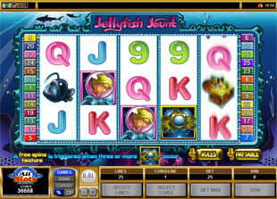 Jellyfish Jaunt slot game online review