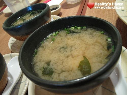 miso soup sumosan
