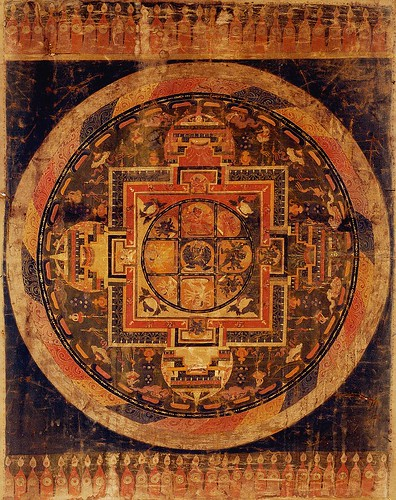 mandala Tibet 3 by trudeau