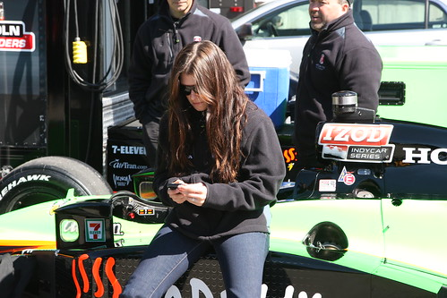 Danica Tweeting?