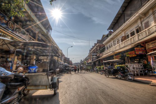 Busy Streets of Siem Reap