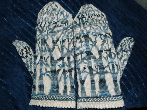 Olympic Mittens Completed!