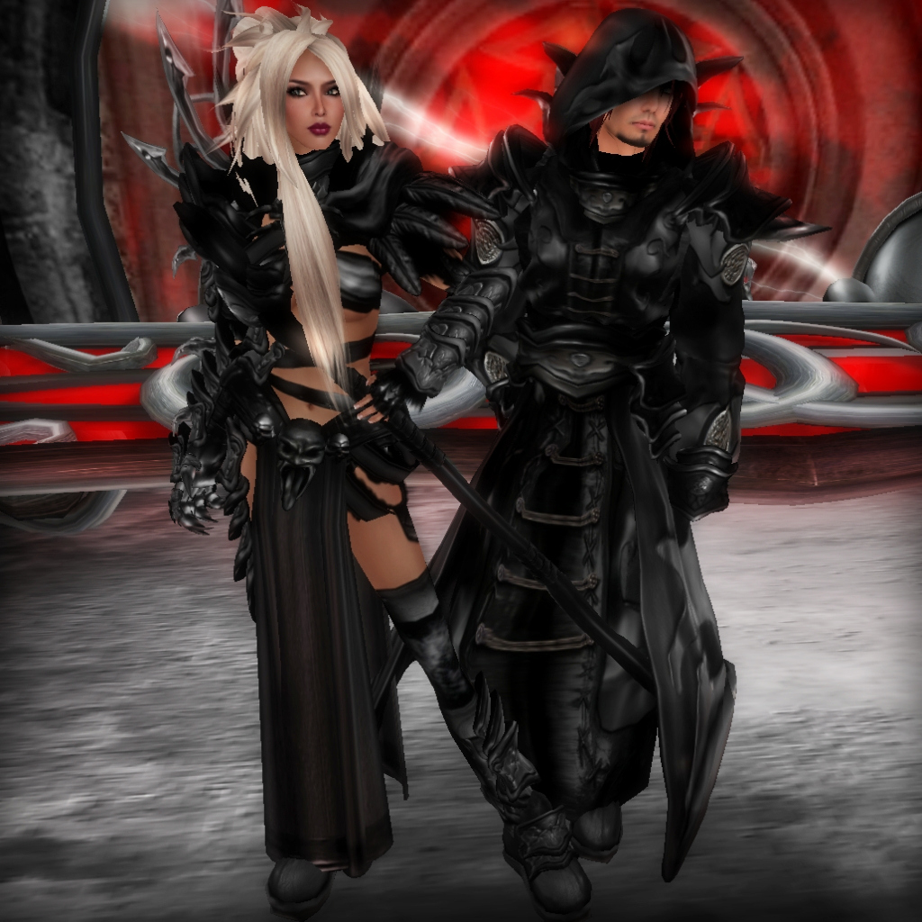 Midnight Sorceress and Battlemage