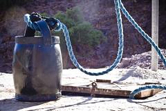 reprieve (miss_kcc) Tags: africa water bucket well morocco refreshing antiatlas