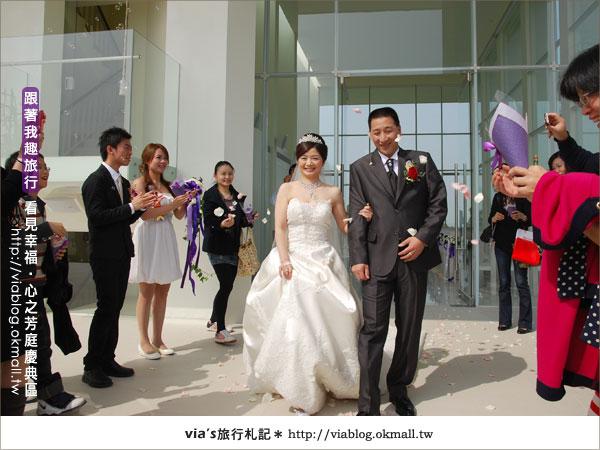 【心之芳庭】幸福婚禮登場~台中心之芳庭慶典區33
