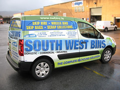 South West Bins Peugeot Wrap