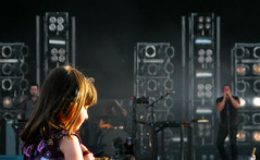sweet girl (zadok priest) Tags: house star inch stage events nin nine nails 2009 knebworth vertec sonisphere