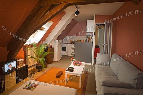 Appartement sous les toits à Saint Amand Montrond (18200) (Cher