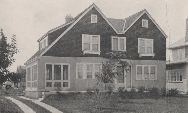 1767 Bedford Road in 1918 by UA Archives  Upper Arlington History