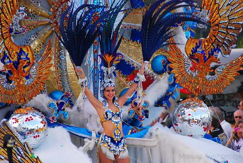 La Reina del Carnaval de Santa Cruz de Tenerife 2010
