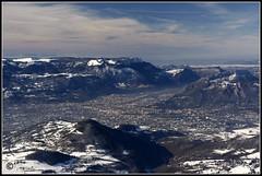 Grenoble (Philippe Bollard) Tags: mountain snow france montagne grenoble landscape altitude neige paysage chamrousse