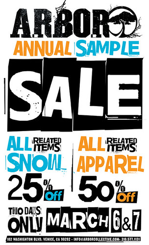 Arbor Sample Sale