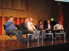 Podium der Veranstaltung #sdnetzpolitik