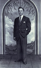 Image titled John Walker, after demob, 1947.