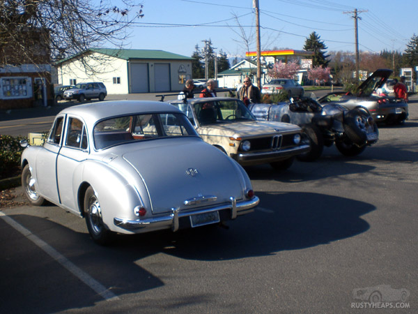 MG Magnette, BMW 2002, Special