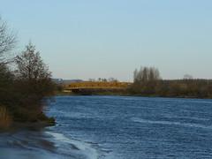 Sainte Marie-de-Gosse (40), l'Adour à marée basse et le pont sur la Bidouze (Marie-Hélène Cingal) Tags: france southwest river 40 fleuve landes sudouest aquitaine adour