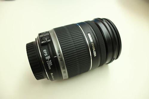 EF-S18-200mm Lens