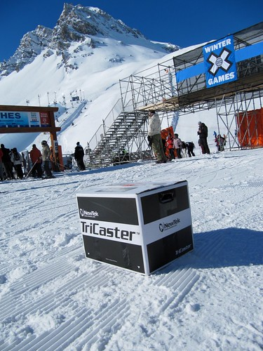 TriCaster at Winter X Games Europe