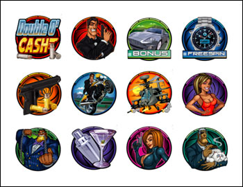 free Double O'Cash slot game symbols