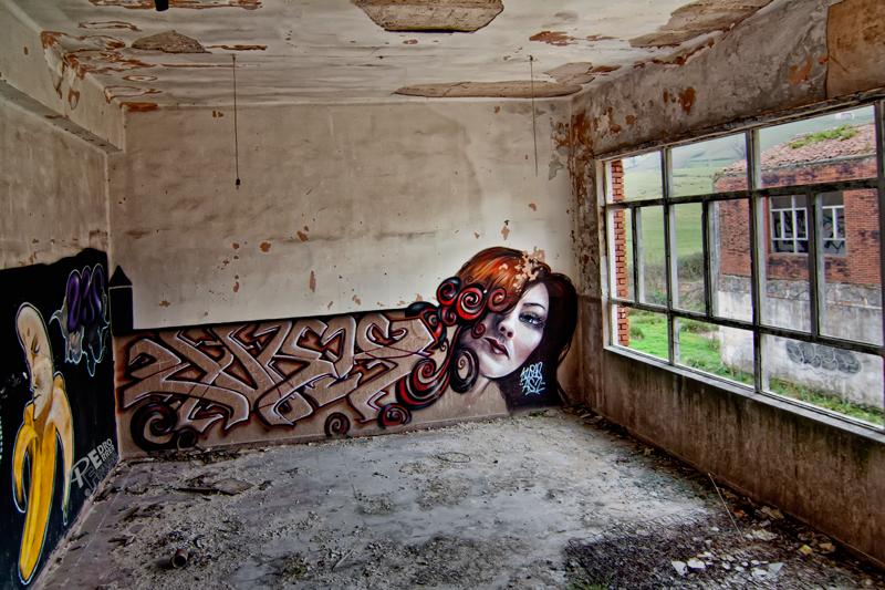 Graffitis en el Seminario - La Bella Dama