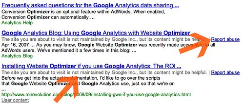 Google Help Forum Search Non Google Content