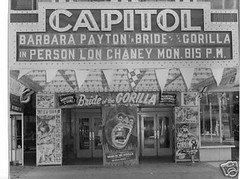 BRIDE OF THE GORILLA (1951) CAPITOL THEATRE NEW JERSEY (hollywoodgorillamen.com) Tags: film vintage movie gorilla ape horror ballyhoo raymondburr brideofthegorilla