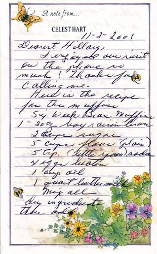 bran muffin recipe 1
