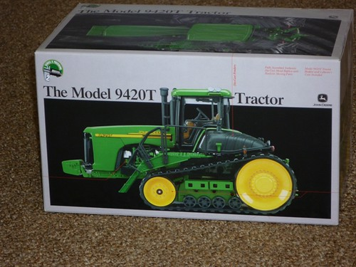 John Deere Collector Toy Tractor