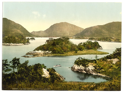 [In the Upper Lake, Killarney. County Kerry, Ireland] (LOC)