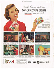 1953 GE Christmas Light ad (JeffCarter629) Tags: christmas christmaslights vintagechristmas gechristmaslights geadvertisments