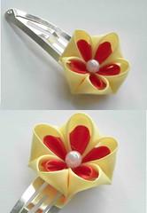 hairclip 6 (Kitty Kanzashi Designs) Tags: hairaccessories kanzashi