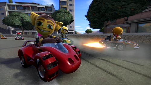 ModNation Racers Ratchet Racing
