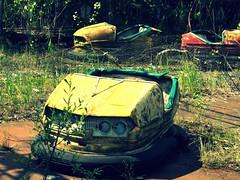 Playground in the abandoned city. Pripyat' / Chernobyl, Ukraine (Daniel Kliza) Tags: city plant abandoned power nuclear ukraine powerplant zona zone reactor iaea chernobyl abandonedcity thezone pripyat