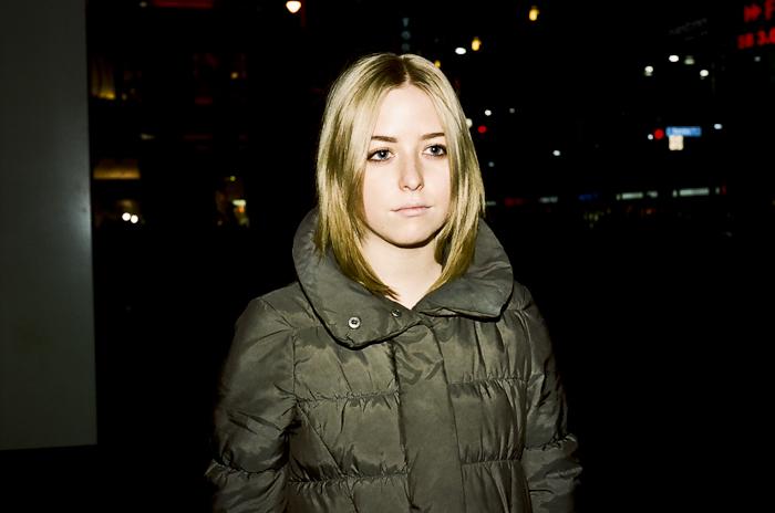 Portrait: Paige @ Dundas Sq., Toronto