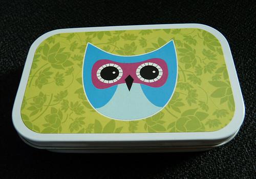Hooty Owl Tin