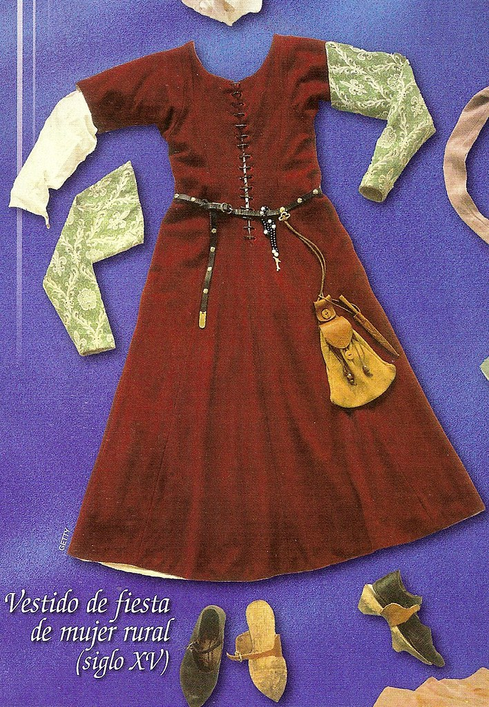 roupa medieval