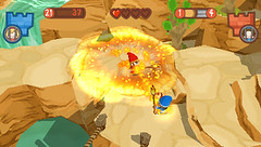Fat Princess: Fistful of Cake for PSP Screen 1