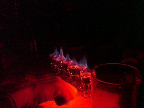Baijiu on Fire
