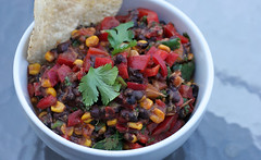 Black Bean Chipotle Salsa