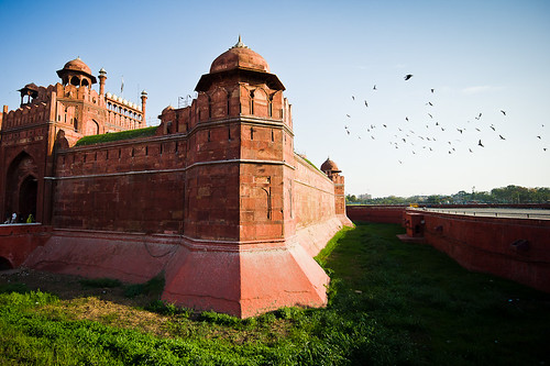 Tower & Moat, Red Fort